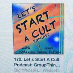 27 Best HACKTHOUGHT : LET'S START A CULT PODCAST images in 2018