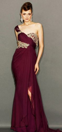Marchesa fall gown