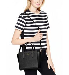 Kate Spade Orchard Cedar Street Small Hayden Bag Black. #dailyglam #outfits