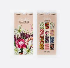 Lux Floral Birthday Calendar Birthday Calendar, Cover, Floral, Products, Birthday Calender, Flowers, Flower, Gadget