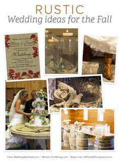 Rustic Wedding Ideas for Fall from MyOnlineWeddingHe... | Gemvara Blog