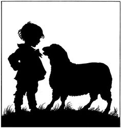 silhouette sheep - Google Search