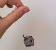 a tensioning trick you may not know (this is good to know ... my grandma showed me to check this but I had no idea what I was checking, or how to fix it if it's not right!) sewing #tips #tension ≈√: