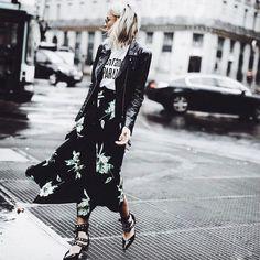 Proenza Schouler | Printed Crepe Georgette Asymmetric Skirt | Covetboard