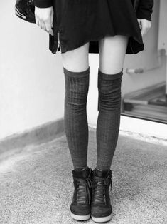 thigh highs // hightops