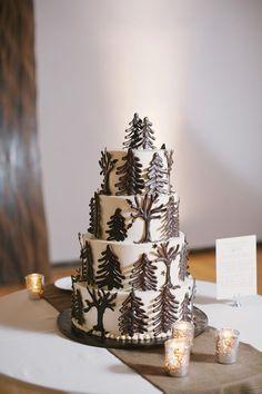 Fabulous Winter Wedding Cakes  ~ we ♥ this! moncheribridals.com