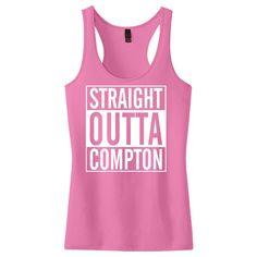 Straight Outta Compton Women's Racerback Tank Top