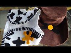 Sombrero vaquero en foami para disfraz halloween de Woody Toy Story Disney  Pixar Fofuchas en foami 7d9044bce29