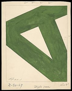 Charles Green Shaw, Stipple Green, 1967