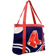 Boston Red Sox MLB Canvas Tailgate Tote