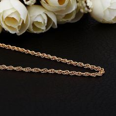 Plated Thick Intertwined Chain Necklace, Women's