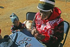 A beading community is sustainably employed to make The Bead Co's cause-realated bracelets