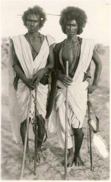 black Nubian girl people