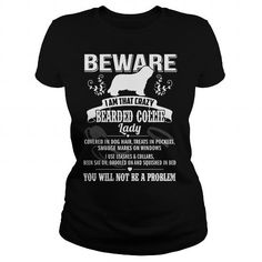 BEWARE IAM THAT CRAZY BEARDED COLLIE LADY T-Shirts, Hoodies ==►► Click Image to Shopping NOW!