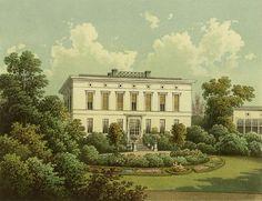 Pałac w Chróstach został znacjonalizowany i szybko znalazł się pod zarządem Państwowego Gospodarstwa Rolnego. Miejscowi rozkradali doszczętnie co mogli