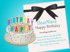 Share This On WhatsAppBirthday Messages For Niece Family Can Be An Anchor In Our Lives And Especially Loving Ones There Are Many Wonderful People Who