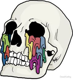 Self Titled Inspired Skull Art (Twenty One Pilots) by DeadKathy