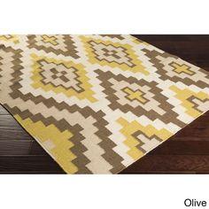 Hand-woven Freda Reversible Wool Rug (3'3 x 5'3) (