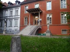 Ljubljana. One of the university buildings. I'm pretty sure this porch and steps are by Plecnick. Correct me if I'm wrong.
