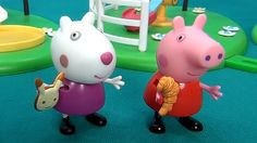 Peppa Pig in English. Peppa Pig cooks cookies for her friends. Peppa and...