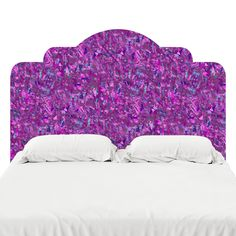Purple Headboard Decal