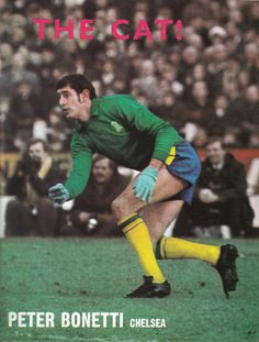 29th April 1970. Chelsea goalkeeper Peter Bonetti in action during the FA Cup…