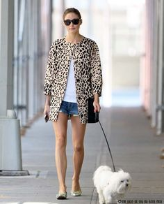 Perfect jacket makes the outfit ... (Olivia Palermo)