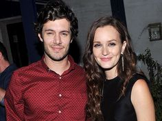 It's official adam brody and leighton meester go public with their relationship