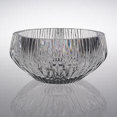TAPIO WIRKKALA - A crystal glass bowl for Iittala 1954, Finland. [Ø 27 cm, h. 13 cm]