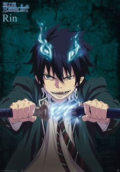 blue exorcist rin - Google Search