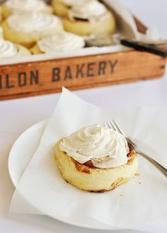 Need a signature dish.  Cinnamon rolls?  Have to play with this one and think about it.