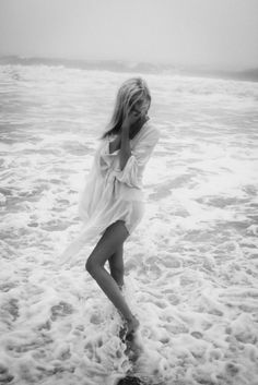 I have such a soft spot for button-ups that are too big and bikini's beneath - of course, you only find this look at the beach!
