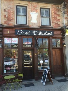 Sweet Store in Elora Ontario