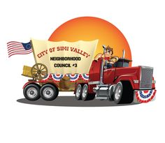 patriotic logo illustrative logo design for City of Simi Valley by the logo boutique Best Logo Design, Custom Logo Design, Custom Logos, Illustrative Logo, Best Logo Maker, Simi Valley, Cool Logo, Boutique, City