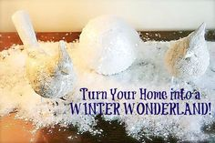 Winter Wonderland Decorating Ideas - No need to let the house go bare after Christmas!  #winter #decorating #ideas