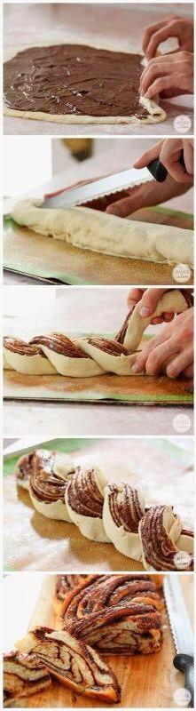 Nutella monkey bread