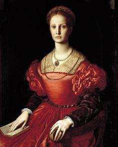 Agnolo Bronzino-Ritratto di Lucrezia Panciatichi, 1541,olio su tavola ,104x84 cm,Galleria degli Uffizi,Firenze