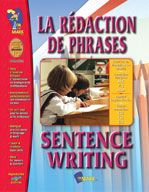 Shop Staples for great deals on La redaction de phrases/Sentence Writing - A Bilingual Skill Building Workbook, Grades French Sentences, French Resources, Sentence Writing, France, Grade 1, Elementary Schools, Teaching Resources, Ebooks, Classroom