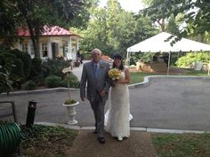 My Bride and her Father....EasternShoreEvents.net