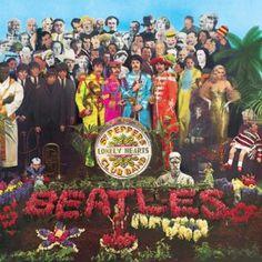 Pepper - the beatles - john lennon - paul mccartney - ringo starr- george harrison - album -cover The Beatles, Beatles Album Covers, Iconic Album Covers, Greatest Album Covers, Classic Album Covers, Cool Album Covers, Beatles Songs, Original Beatles, Psychedelic Rock