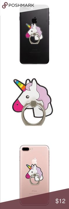 Strict Uvr Unicorn Mobile Phone Stand Holder Cute Animal Finger Ring Mobile Smartphone Holder Stand For Iphone Xiaomi Huawei All Phone Attractive Designs; Mobile Phone Accessories