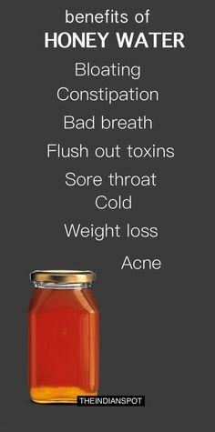 Honey water