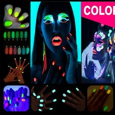 0.68$ (Buy here: http://alipromo.com/redirect/product/olggsvsyvirrjo72hvdqvl2ak2td7iz7/32707887651/en ) 2016 New 10g Fluorescent Powder DIY Bright Nail Art Glow In The Dark Sand Powder Glow Pigment Dust Luminous Nail Glitter GM848 for just 0.68$