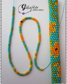 Crochet Rope, Bead Crochet, Free Crochet, Collar Redondo, Bracelet Tutorial, Beaded Embroidery, Beading Patterns, Diy And Crafts, Jewelery