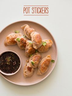 Pot Stickers - Phil would love these! Would be a fun at home date night to try to make together
