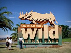 This is the original monument sign that we built for the Wild Animal Park prior to them changing their name to the Safari Park. We have a project showcase on our website highlighting the build and install if interested.... http://www.clearsigns.com/content/page/a-wild-animal-park