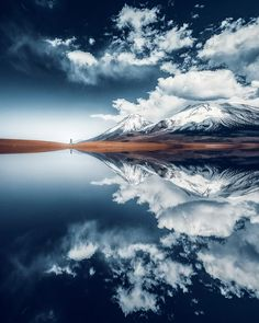 A beautiful reflection on a lake in Bolivia. From Grafixart_photography Fast Crazy Nature Deals. Landscape Photography, Nature Photography, Travel Photography, Photography Tips, Digital Photography, Beautiful Places To Travel, Beautiful World, Wonderful Places, Beautiful Scenery