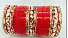 Wedding chura Wedding Chura, Bridal Chura, Punjabi Chura, Bridal Bangles, Wedding Rituals, Makeup Swatches, Bangle Set, Indian Dresses, Wedding Bells