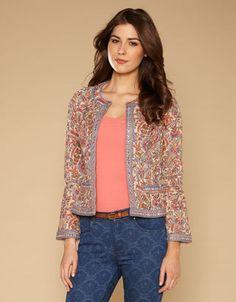 Camilla Print Jacket