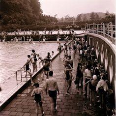 Zwembad Klarenbeek, 1963.